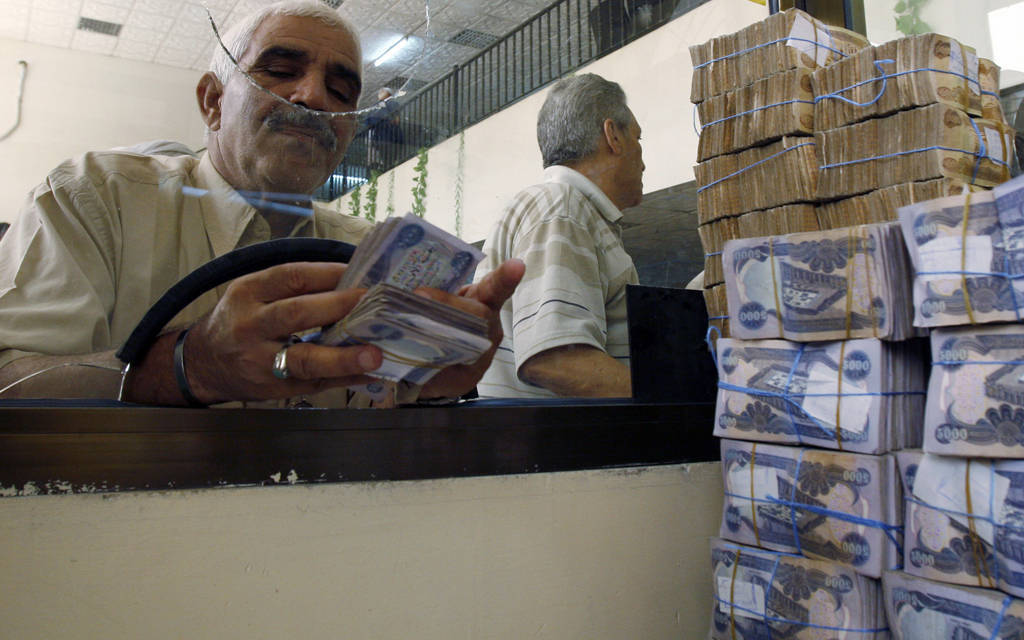Central Iraqi sales of foreign currency rise 900 thousand dollars