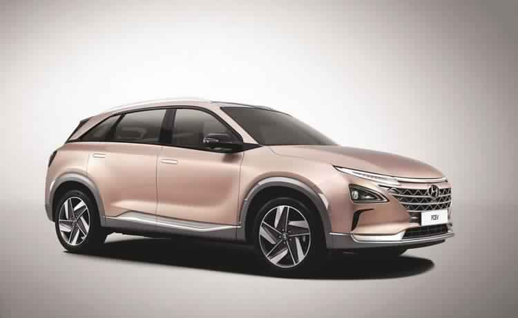 Hyundai unveils new fuel cell vehicle with next generation self-driving features