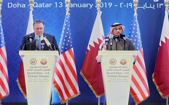 Qatar and the United States sign three agreements, most notably the expansion of Al-Many