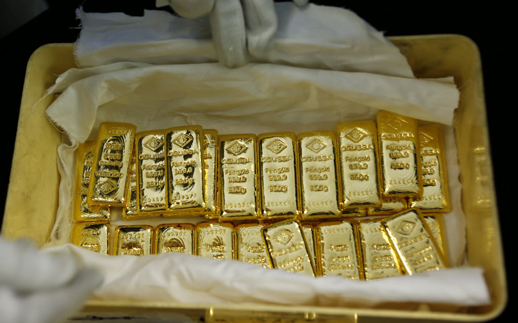 Gold rises for the fourth consecutive week