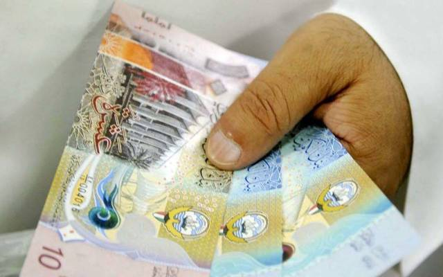 The Kuwaiti Dinar is falling against the US Dollar and rising against 4 other currencies